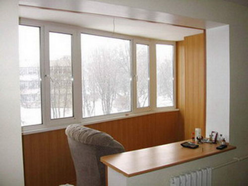 Дизайн кухни на балконе или лоджии