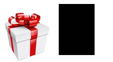 подарок при заказе онлайн